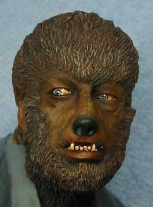Wolf Man up close