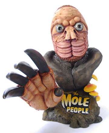 Earthbound\'s Mole Man Big Head